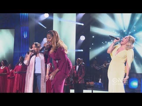 Tasha PageLockhart, LeAndria Johnson & Keke Wyatt Tribute to Tamela Mann
