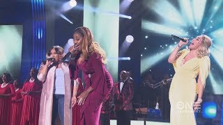 Tasha Page-Lockhart, Le'Andria Johnson & Keke Wyatt Tribute to Tamela Mann