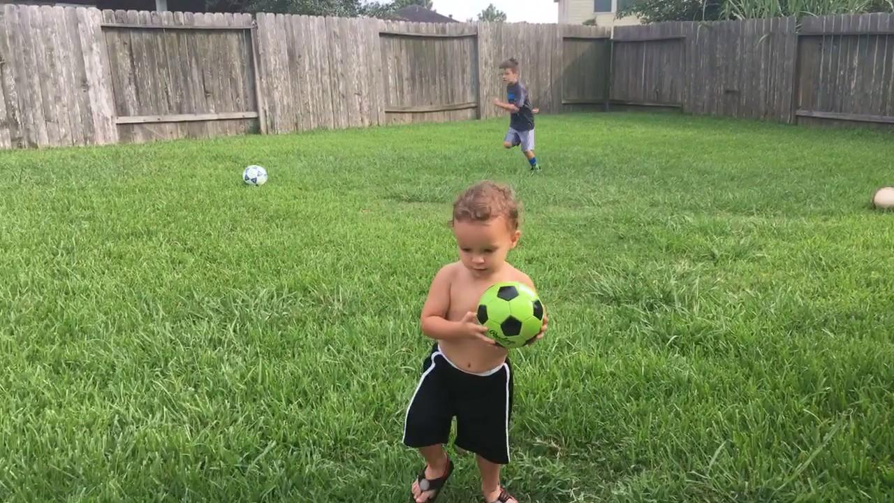 tank u0026 gray playing in their new backyard july 19 2017 youtube