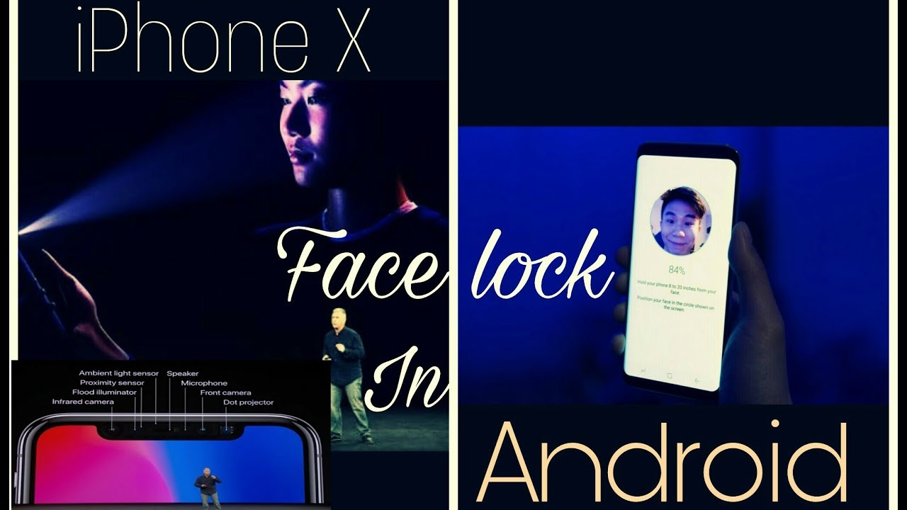 iPhone X | Face detection | In any Android | Karan technical wala