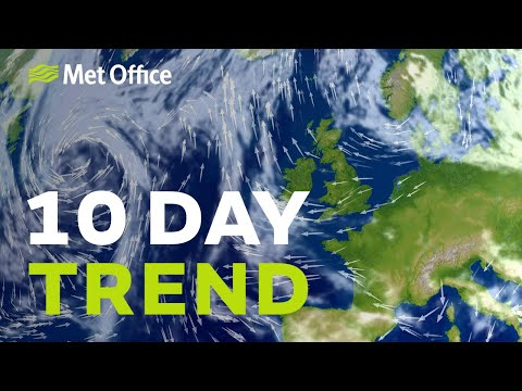 10 Day Trend – Turning colder