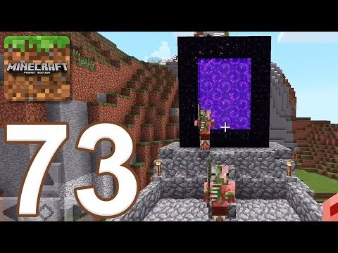 Minecraft: Pocket Edition - Gameplay Walkthrough Part 73 - Survival (iOS, Android)