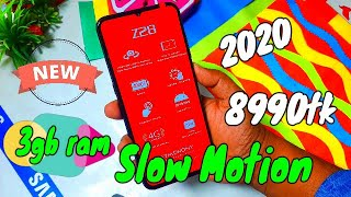 Symphony Z28 Unboxing and Review In Bangla || Slow motion Camera Phone Under 9k