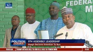 9th Assembly Leadership: Dyegh Kicks Against APC's Endorsement |Politics Today|