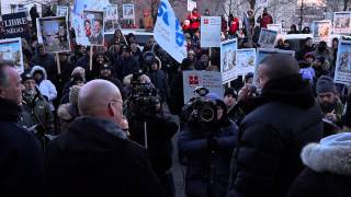 White Collar City Workers Protest Montreal City Hall March 23 2015 00063