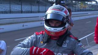 2016 Indy 500 Armed Forces Pole Day Highlights