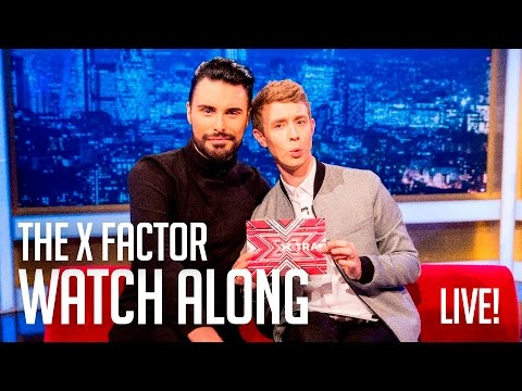 X Factor Final Watchalong Party with Matt Edmondson, Rylan and Roman Kemp