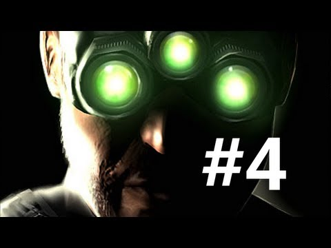 """Let's Play """"Splinter Cell: Chaos Theory"""" 04: Penthouse, HD PC (and now PS3) version"""