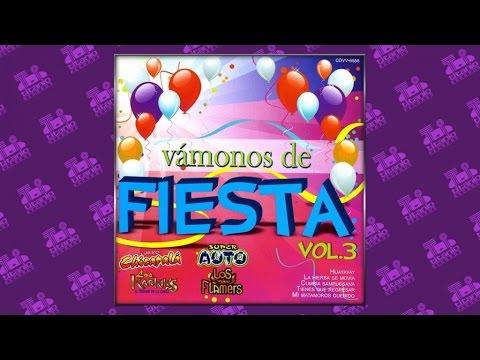 Vámonos de Fiesta Vol.3 - Popurrí Rigo Tovar (Audio Oficial)