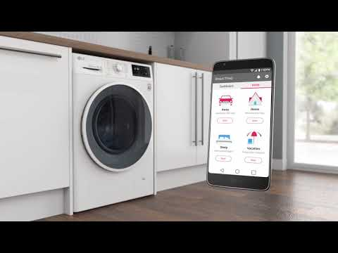 Lg Washing Machines With Nfc Tag On Ao Com Youtube