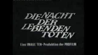 Die Nacht der lebenden Toten (deutscher Trailer - 1968)