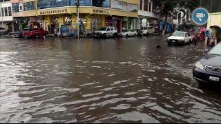 Lluvias dejan sectores inundados en Quetzaltenango