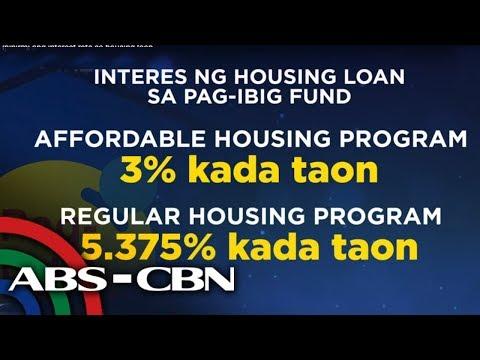 Pag-IBIG Fund, Ipipirmi Ang Interest Rate Sa Housing Loan   TV Patrol
