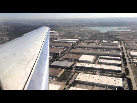 American Airlines McDonnell Douglas MD-80 Landing in Dallas Fort Worth (DFW)