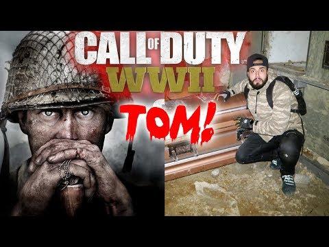 CALL OF DUTY WORLD WAR 2 VS MOE SARGI + TOM THE GHOST STORY!