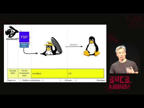 34C3 -  Bringing Linux back to server boot ROMs with NERF and Heads