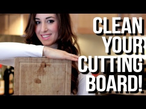 How to Clean Your Cutting Board! Easy Kitchen Cleaning Ideas That Save Time (Clean My Space)