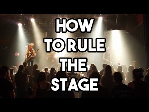 How to RULE THE STAGE!!!   | SpectreSoundStudios