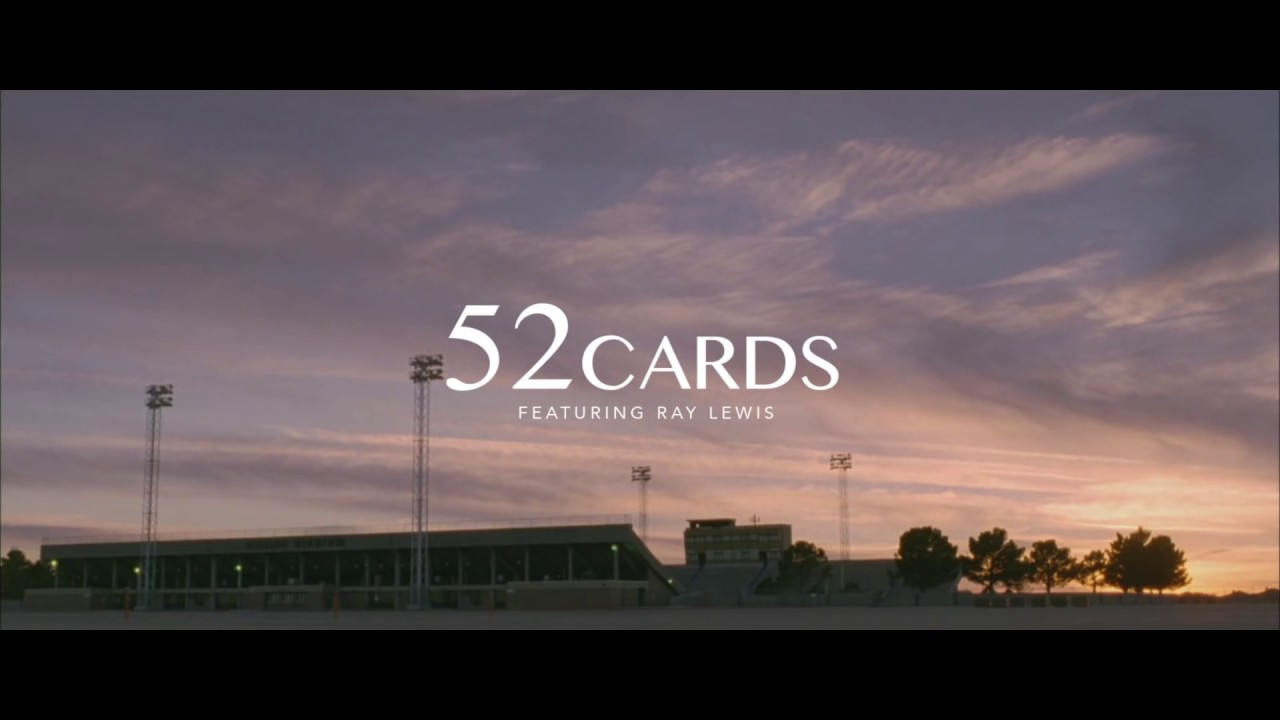 52 Cards - Ray Lewis (Motivational Speech)[DON'T FORGET TO SUBSCRIBE‼️]