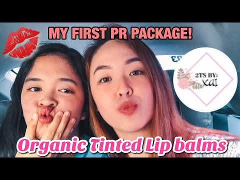 ORGANIC LIP BALM REVIEW of 2TsbyXai products| My first PR Package