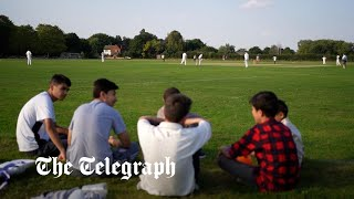video: Afghans fleeing Kabul bowled over by Britons' warm welcome in cricket match