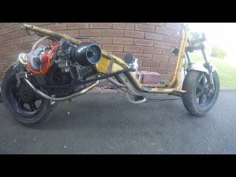 150cc turbo scooter - 150cc turbo scooter Video - 150cc