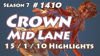 SSG Crown - Taliyah vs Corki - FW Maple, KR LOL Highlights | 크라운 탈리야