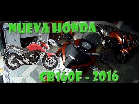 Nueva Honda CB160F 2016 - MotoVlog