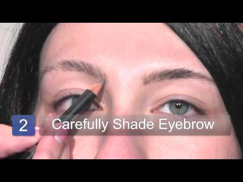 How to Apply Eyebrow Makeup