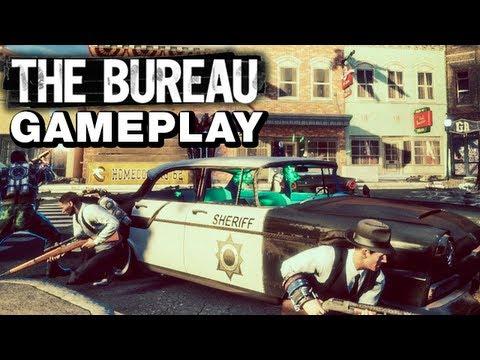 The Bureau: XCOM Declassified Gameplay - Recon & Engineer Strategy - Jeff Bridges Edition