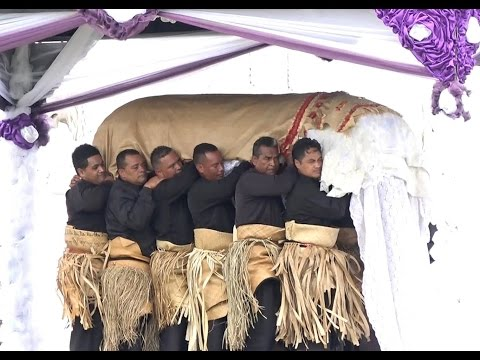 Royal Funeral of Her Late Majesty Queen Halaevalu Mata'aho, The Queen Mother