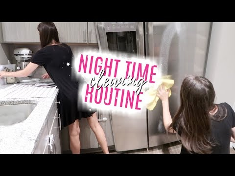CLEAN WITH ME 2018 // MY NIGHT TIME CLEANING ROUTINE // RELAXING POWER HOUR // THE SIMPLE LIFE