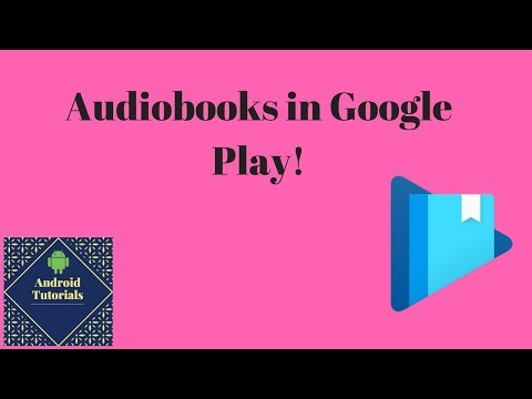 Audiobooks In Google Play!