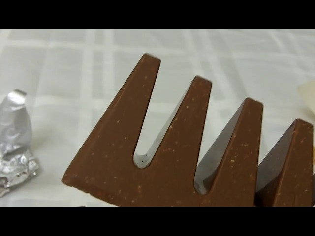 Giant Toblerone Unwrapping And Taste Test Review.  [Sir Sebastian]