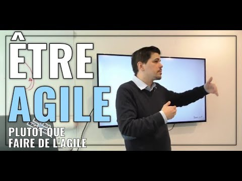 [Talks FridayLabs] Être agile, plutôt que de faire de l'agile