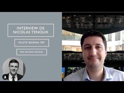 Un ancien de l'IPSA interviewé par un étudiant - Nicolas Tenoux au micro de Nathan Doléac