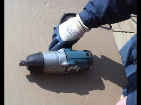 Makita 6906 Impact Drive Wrench 110v 3 4