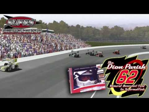 Supermodified Ultimate Pavement Racing Series Promo 2013