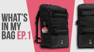 What's In My Camera Bag Ep. 1 - Chrome Industries Niko F-Stop Camera Backpack - Review