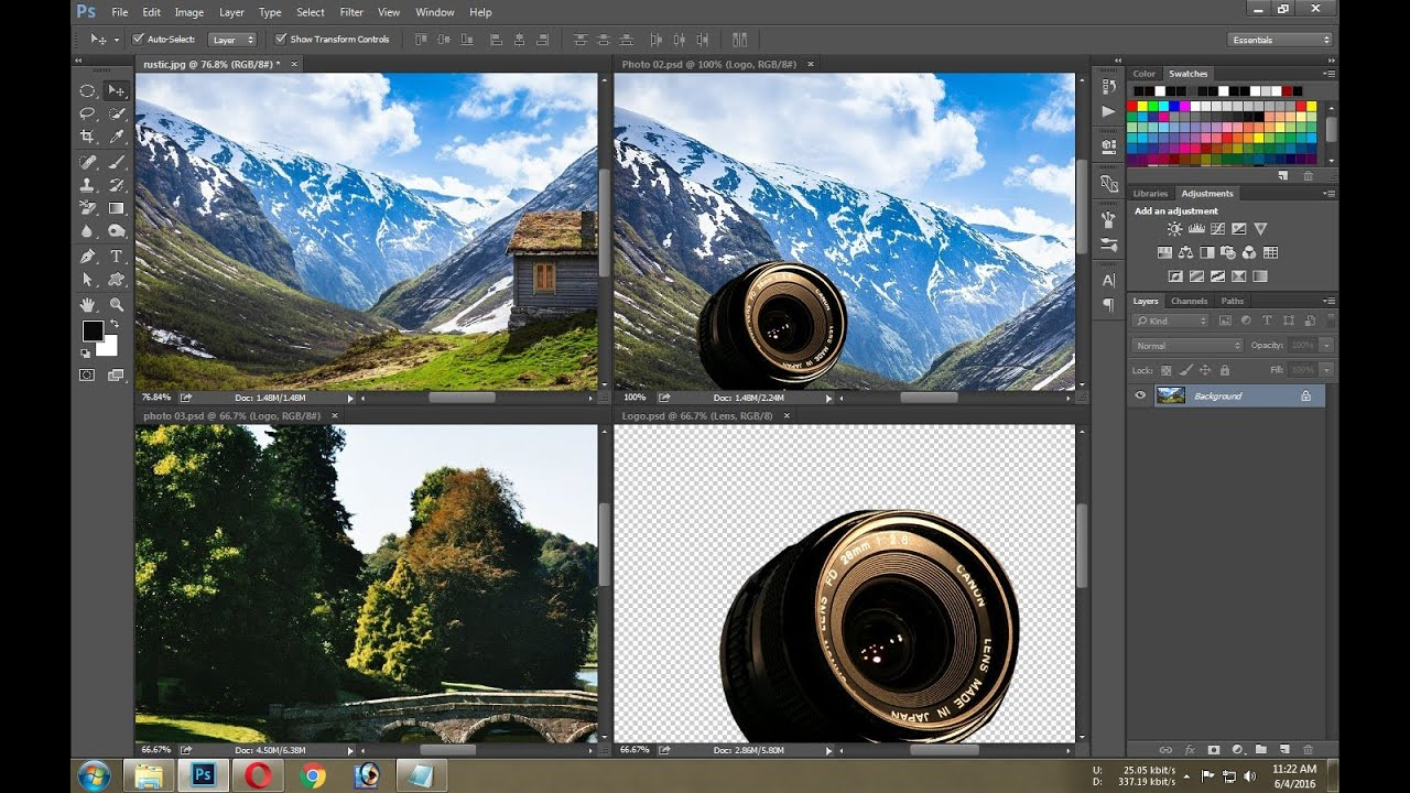 Is there a way to swap out one linked smart object in ...