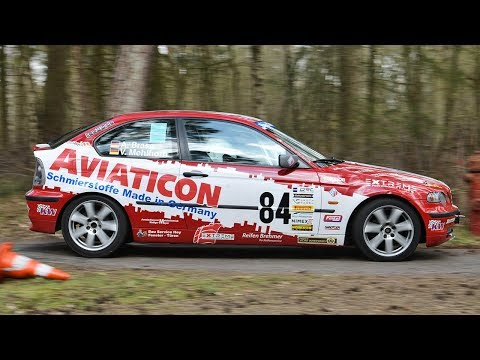 [ONBOARD] XXVIII Rallye Bubi - Buten Un Binnen - Alexander Brase - Vienna Mehlhorn - BMW E46 318ti