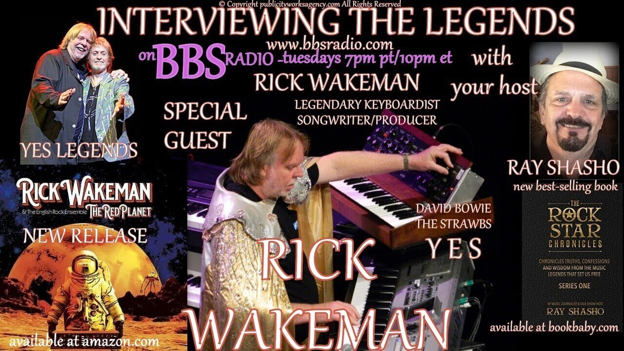 Rick Wakeman Chats about 'The Red Planet' and 'YES' Secrets