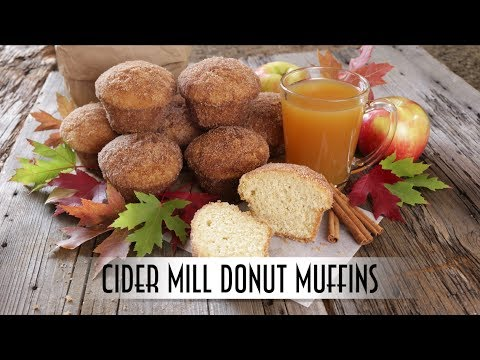 Apple Cider Small Muffins