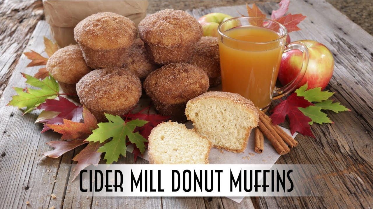 Cider Mill Donut Muffins | Baked not Fried