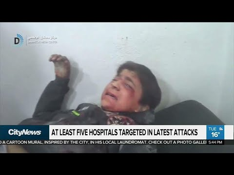 Air strikes in Syria claim civilian casualties