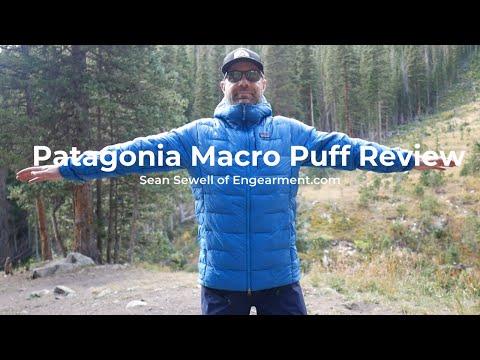 Patagonia Macro Puff Jacket Review - Sean Sewell Of Engearment #patagoniamacropuff
