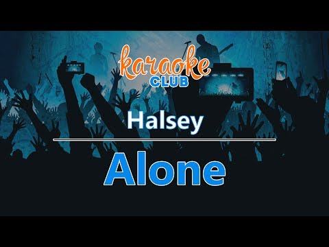 Halsey - Alone (Karaoke Version)
