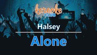Halsey - Alone (Karaoke Version)