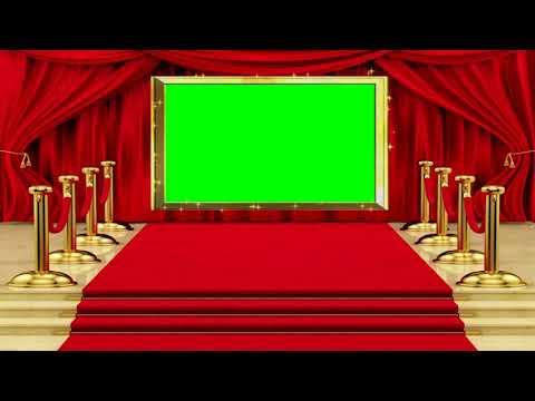 4 K UHD Green Screen Effect In Red Carpet | Wedding Back Ground | 3 D Motion Effect | Misa Studio