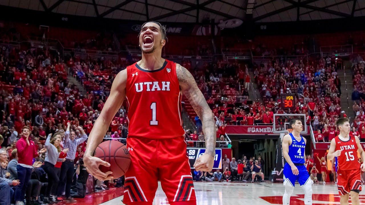 Utah beats BYU in overtime, 102-95